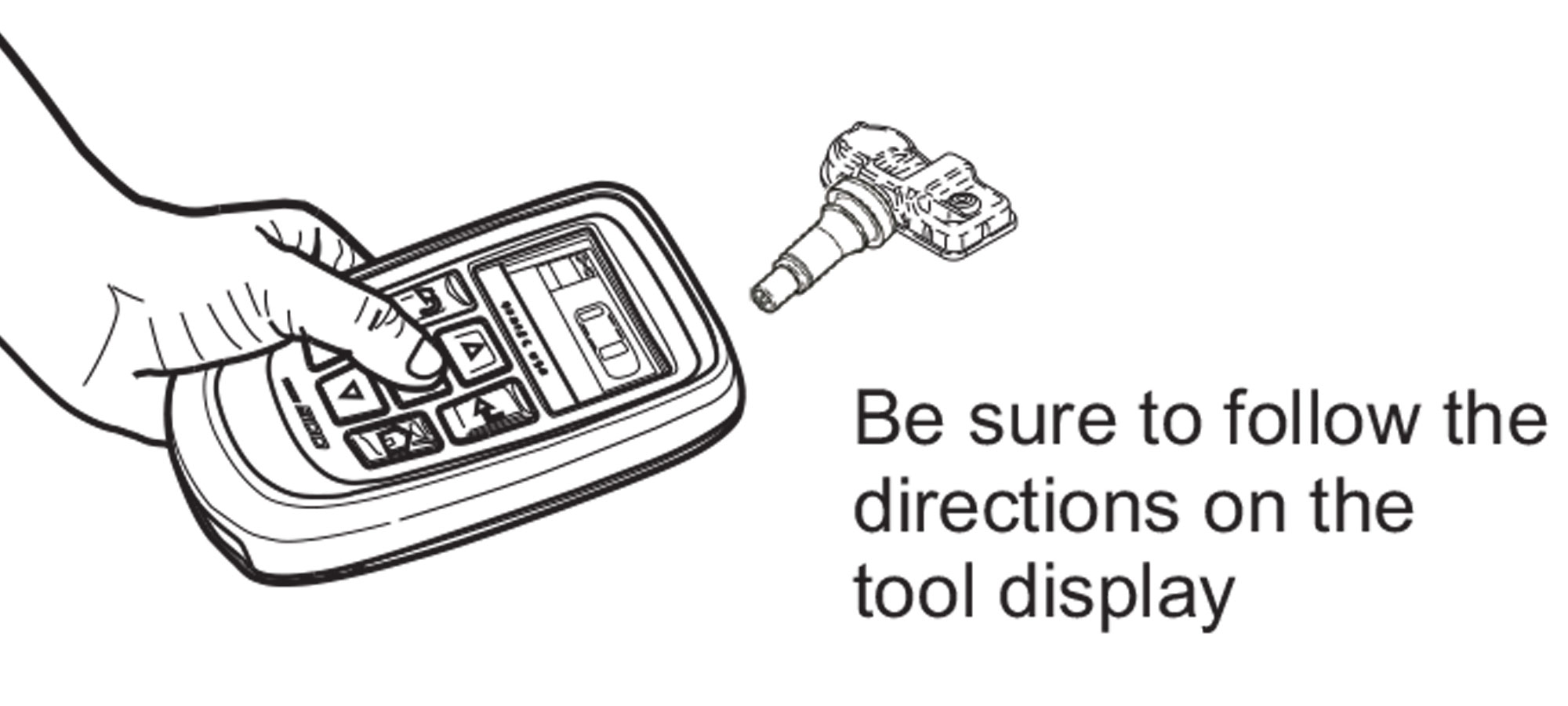 Program appropriate number of RITE-SENSORS using Bartec TPMS Tool