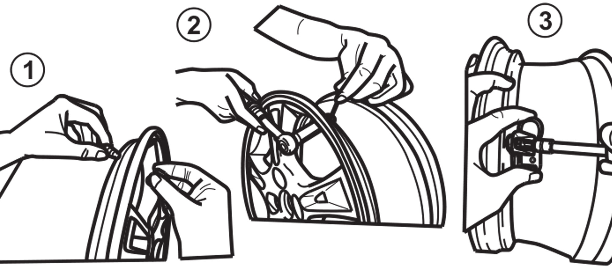 Assembly of RITE-SENSOR<sup>®</sup> with Aluminum Valve Stem Fitted